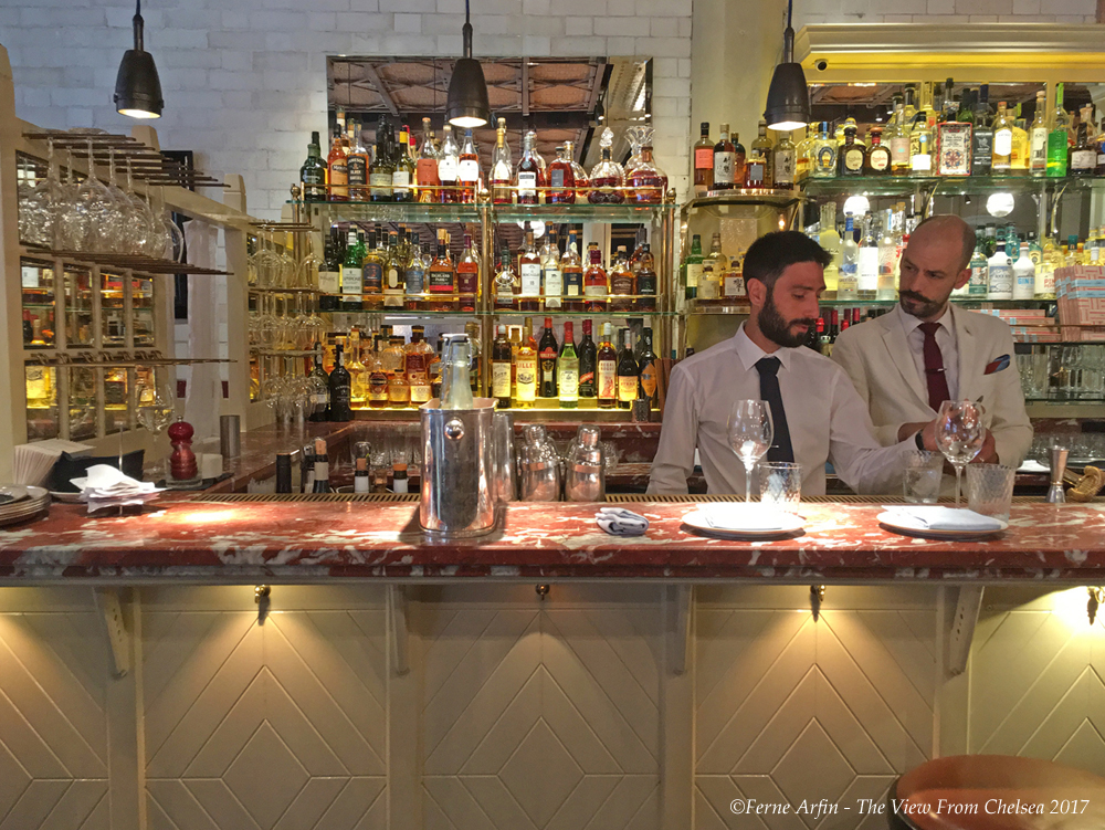Bar at the Chiltern Firehouse