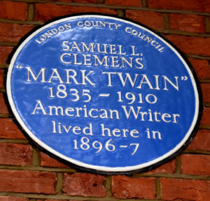 London Blue Plaque Chelsea Walk