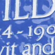 London Blue Plaques Chelsea Walk