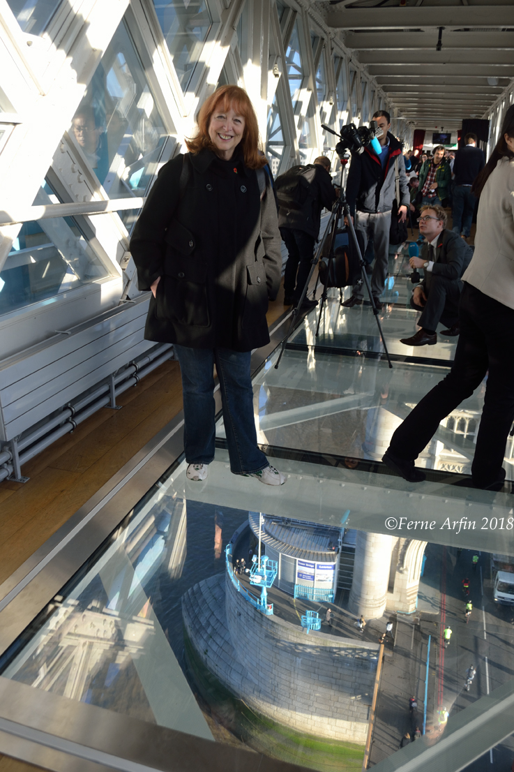 Opening day at Tower Bridge Glass Walkway