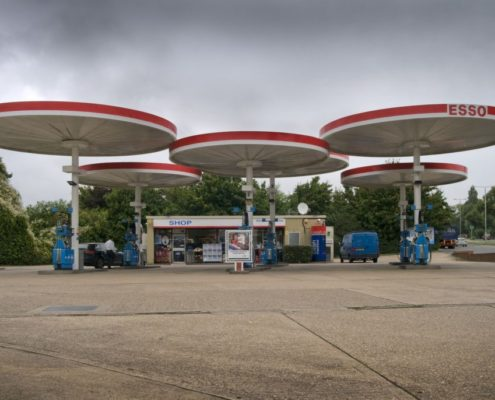 An iconic petrol station design is a listed Historic England monument.