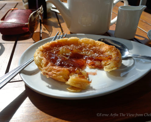 Bakewell pudding in Bakewell