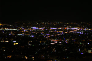 Athens lights