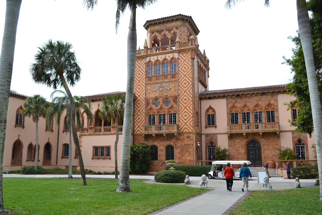 Ca de Zan, the Ringling Mansion in Sarasota.