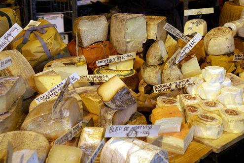 Cheese at Borough market London