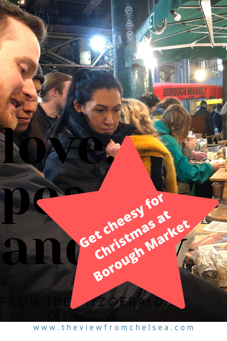 Christmas at Borough Market, 2019, holidays, cheese event, stilton, shoppers, holiday shoppers, Cheeses, cheese tasting, food market, london, england,holidays, foodie