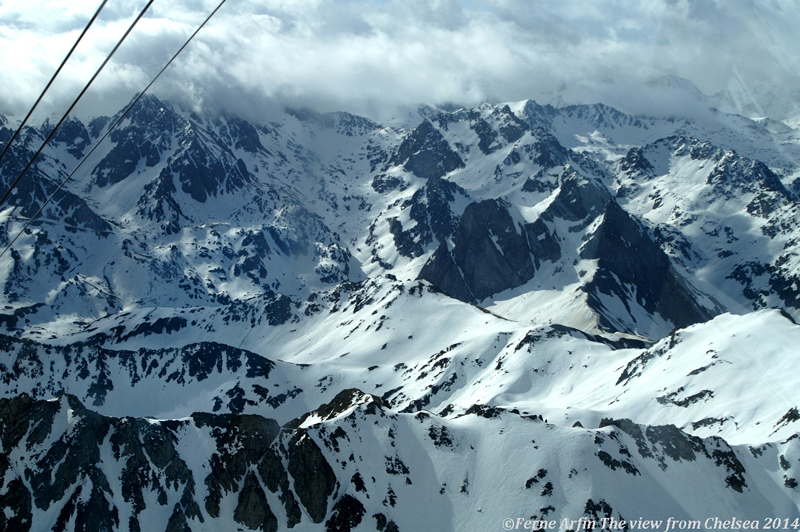 On the way to the Pic du Midi