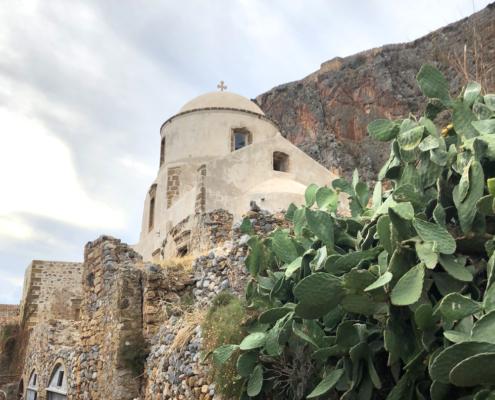 Byzantine Church on Monemvasia