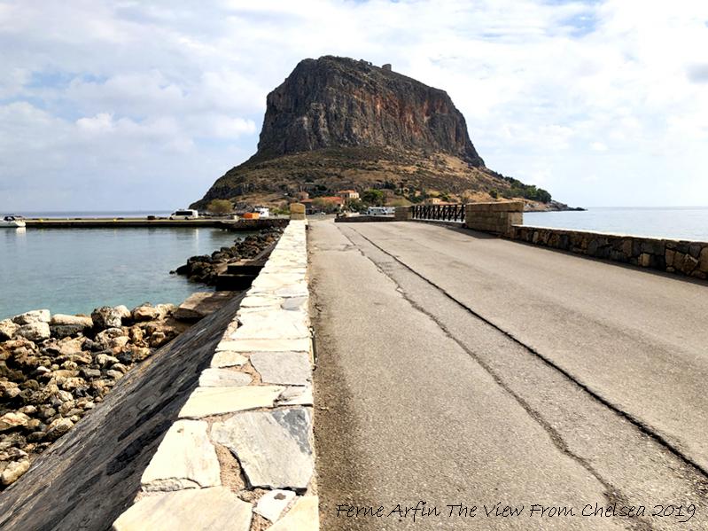 The Bridge to Monemvasia