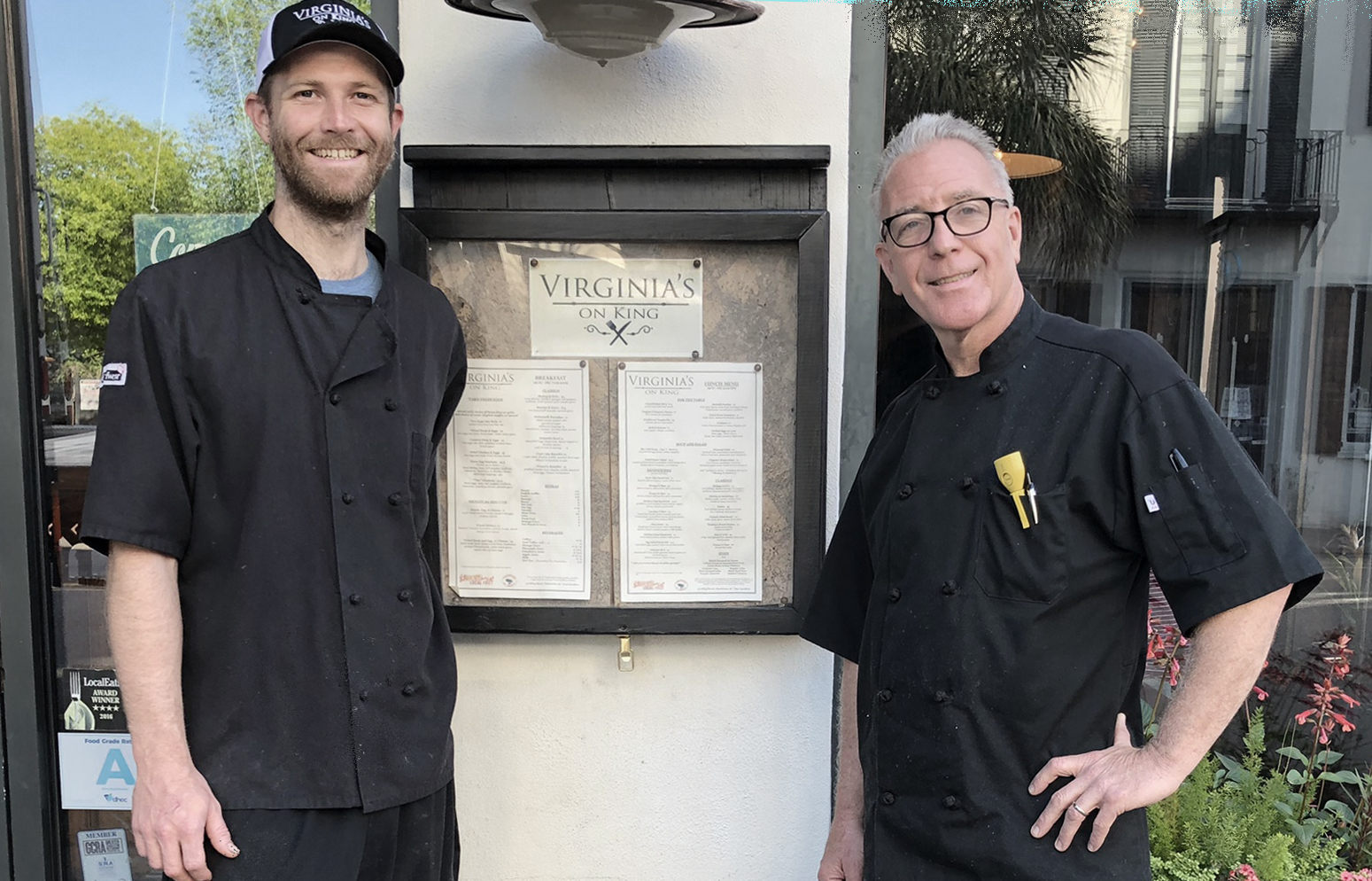 Chefs from Virginia's on King
