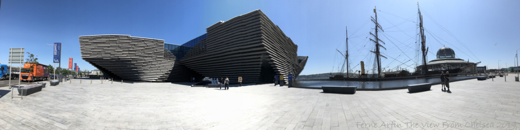 New Victoria and Albert Museum on the Dundee waterfront