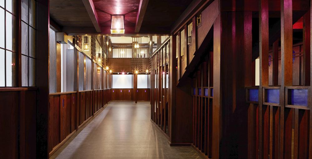 Charles Rennie Macintosh's Oak Room
