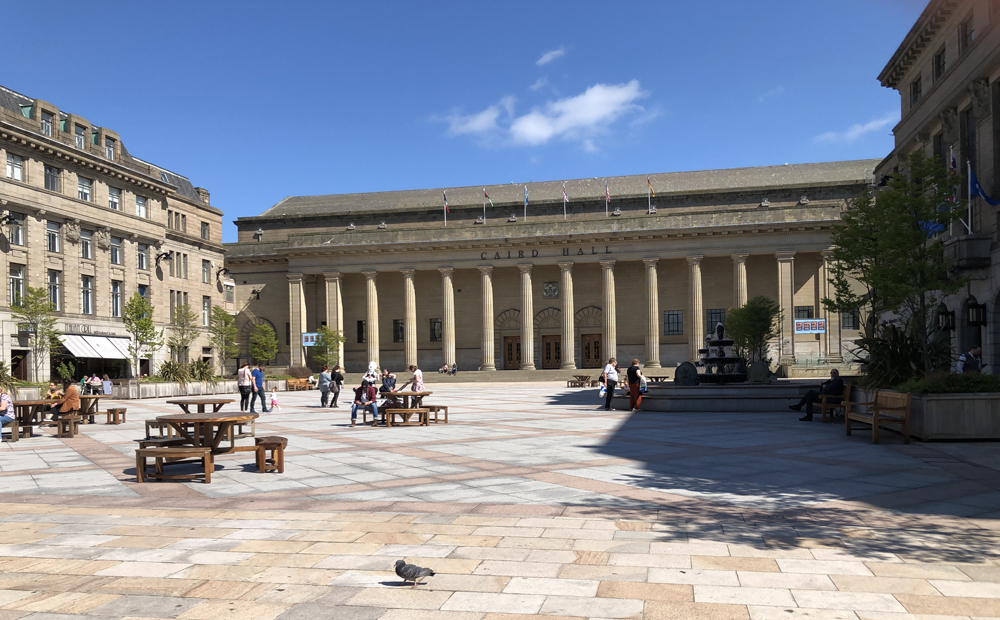 Classical concert hall in Dundee