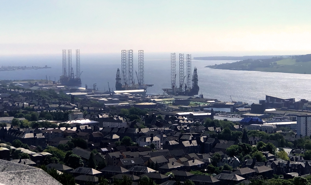 The view from The Law of North Sea Oil Platforms