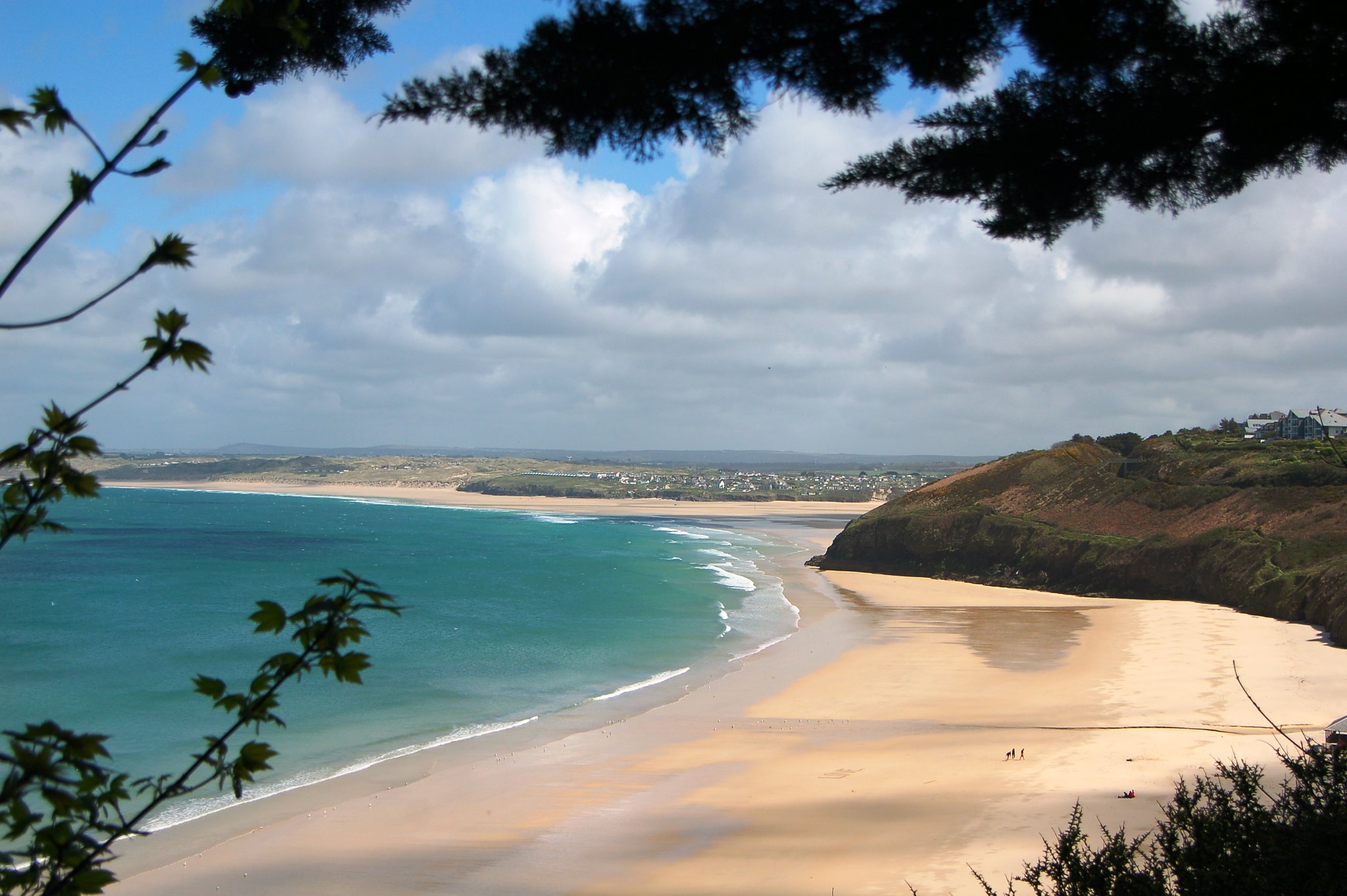Carbis Bay, #carbis bay, #cornwall, #england, #goldensand, #turquoisewater