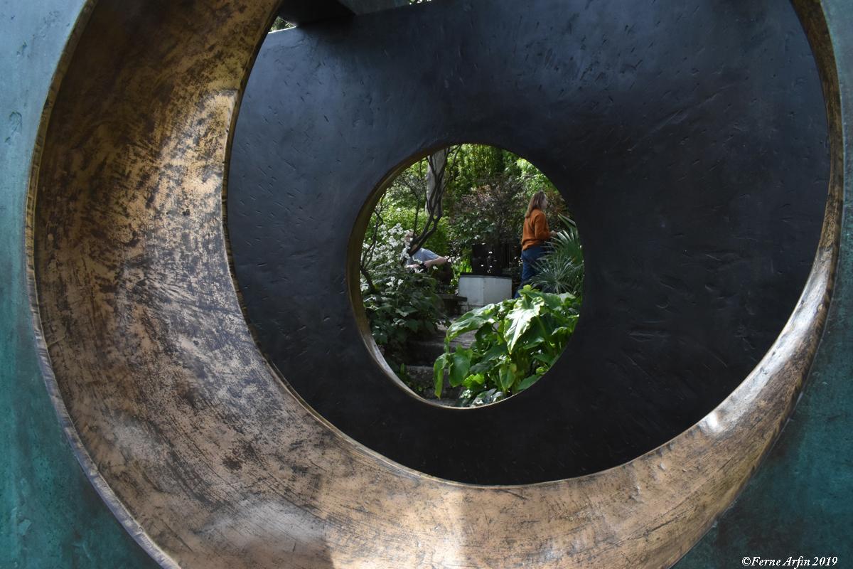 In the Sculpture Garden, #hepworthmuseum, #st-Ives, #england, #englishartist