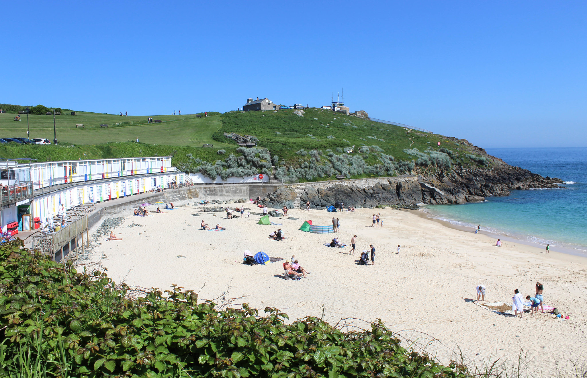 Porthgwidden Beach #cornwall #st-ives #cornish-beaches #family-beaches #england #seaside #holiday-resorts