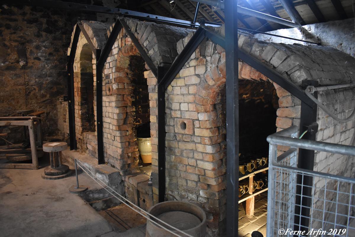 Noborigama Kiln at the Leach Pottery