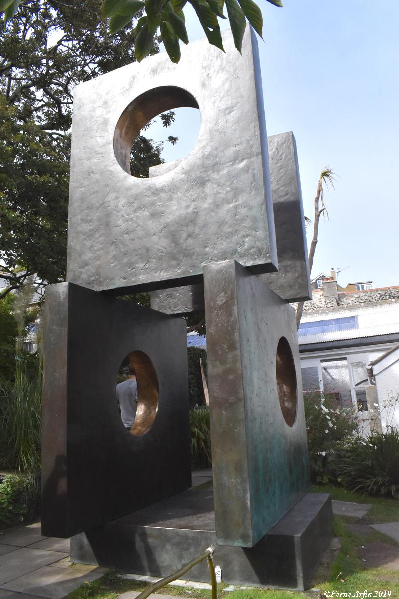 Monumental work in Hepworth Museum and Sculpture Garden