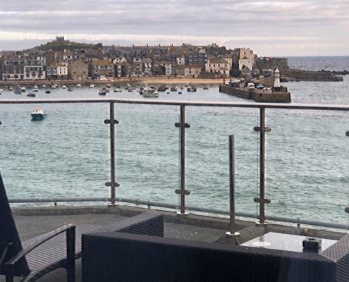 St Ives Harbour, #cornwell #seaside #england #harbour view