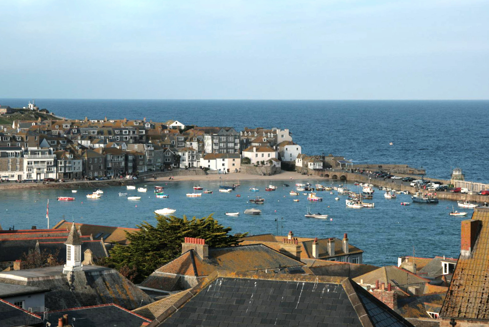 St Ives Harbour #cornwall #fishing-village, #summer-vacations, #england #southcoast