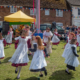 Little Girls Maypole Dancing at the Downton Cuckoo Fair