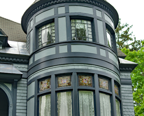 Turret of the Kilmer House