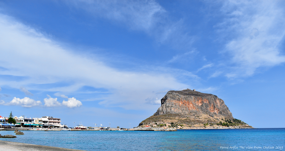 #wide-open-spaces #monemvasia, #greece #greek castles #fortified villages #peloponnese