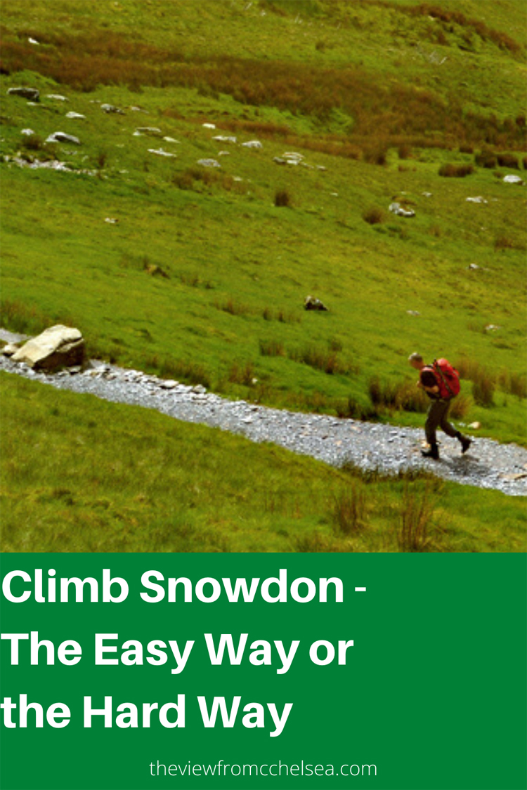 climber on snowdon, Wales, Snowdonia, uK