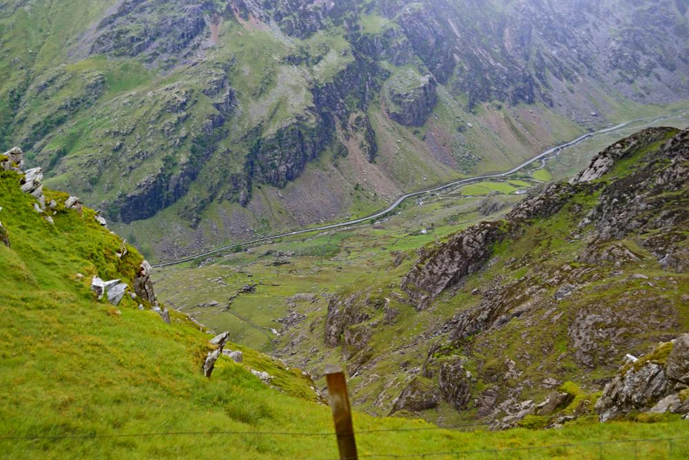 Snowdon, Llanberis Pass, Pen-Y-Pass, Snowdonia, Wales, UK
