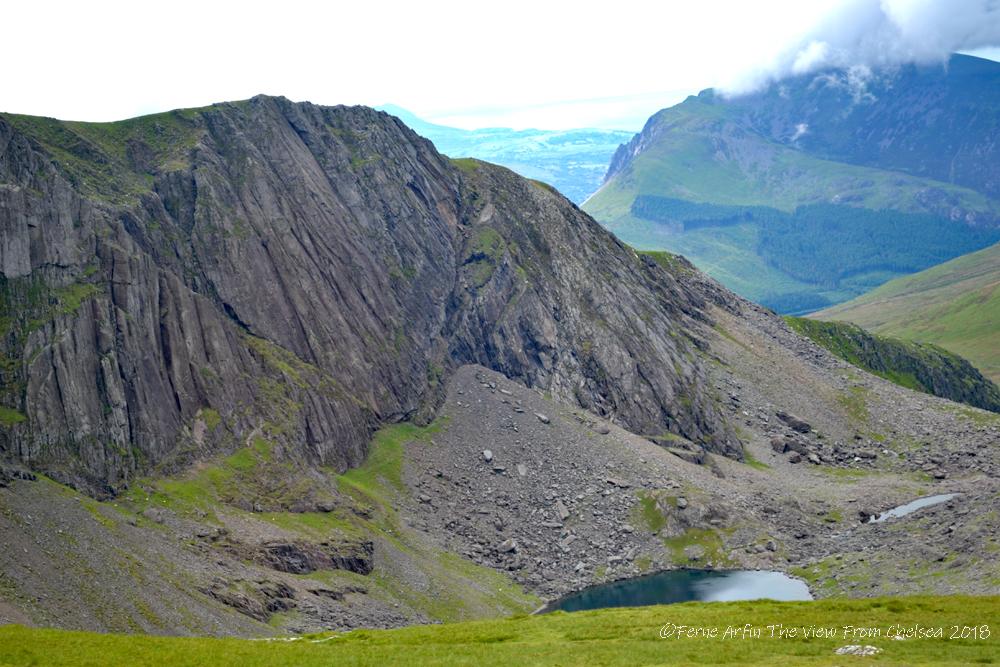 Clogwyn_Du'r_Arddu syncline, Wales, United kingdom, Snowdonia National Park, Snowdon, adventure