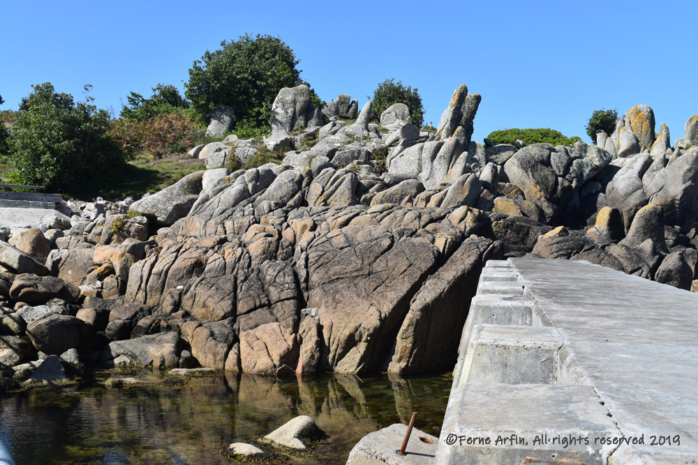 Visit Isles of Scilly, St Agnes landing, ice age rocks, prehistoric geology, rocky promontory, Isles of Scilly, Scilly,Scillies, England, UK