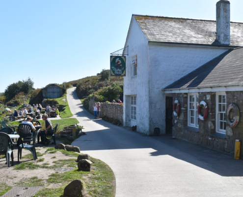 English pub, most southwesterly pub in England, Turks Head, isles of Scilly, ST Agnes, England, UK