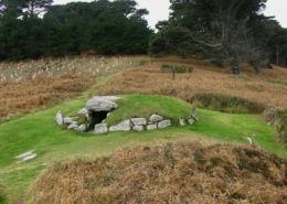 Chambered Tomb, St Mary's, Isles of Scilly, Duchy of Cornwall, England, UK, English Heritage