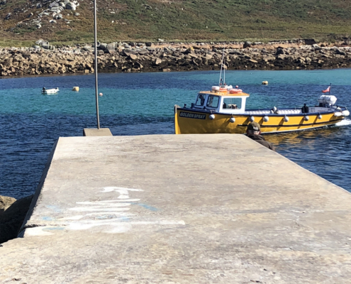 little boat, Scilly transportation, visit isles of scilly