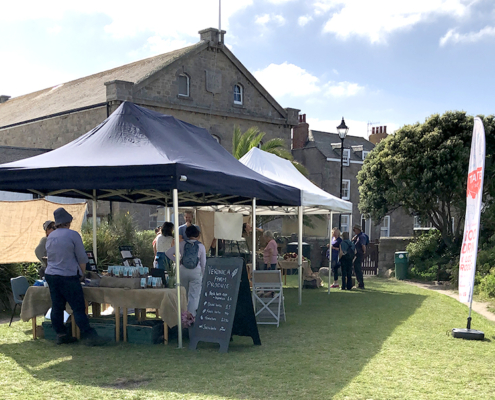 Farmer's Marketm St Mary's, Visit Scilly