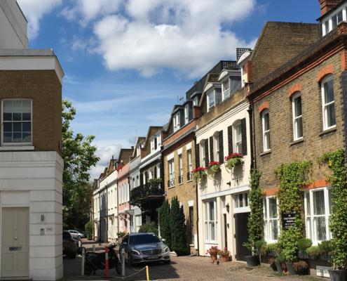 Chelsea, london, england, UK, june morning