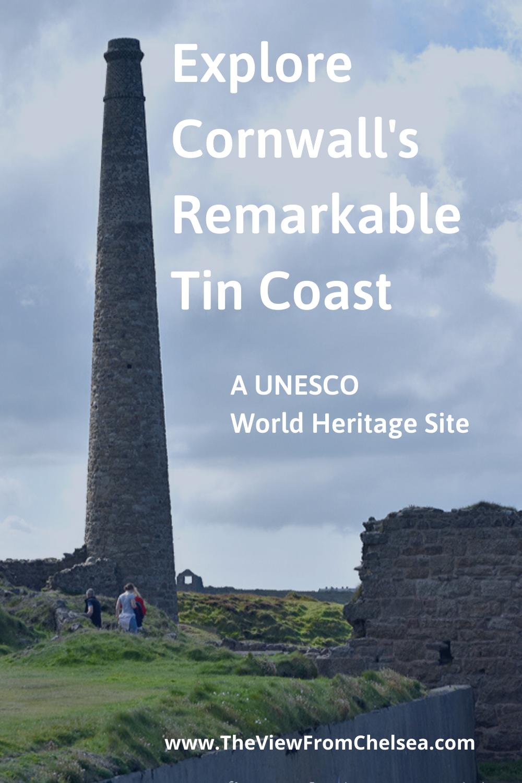 Chimney Stack, Explore Cornwall's Tin Coast, Tin Mine, Cornwall, Tin Coast, UNESCO World Heritage Site