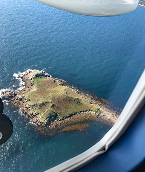 Isles of Scilly from the air, England, UK, Cornwall, Southwest UK