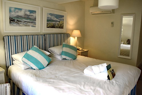 New Inn Room, small double, Isles of Scilly, Tresco, England, Cornwall, Southwest UK