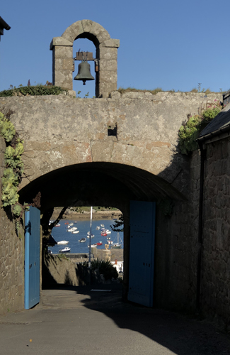 Star Castle gate, Isles of Scilly, Cornwall, Duchy of Cornwall, St Mary's, England