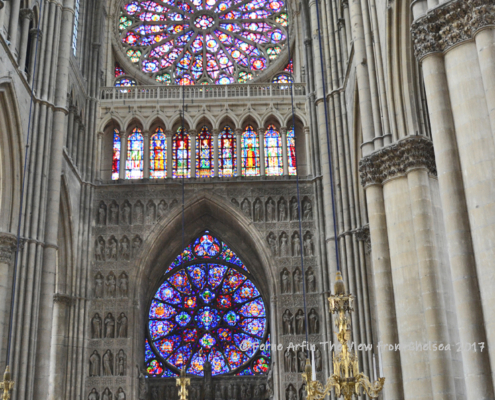 Windows of Reims Cathedral