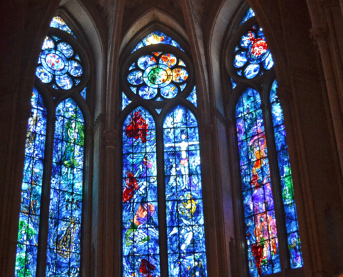 Chagall Windows at Reims