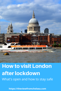 Pin for how to visit london