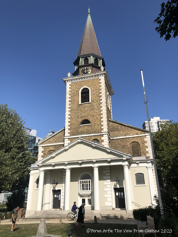 Georgian Church, St Mary's Battersea, Benedict Arnold