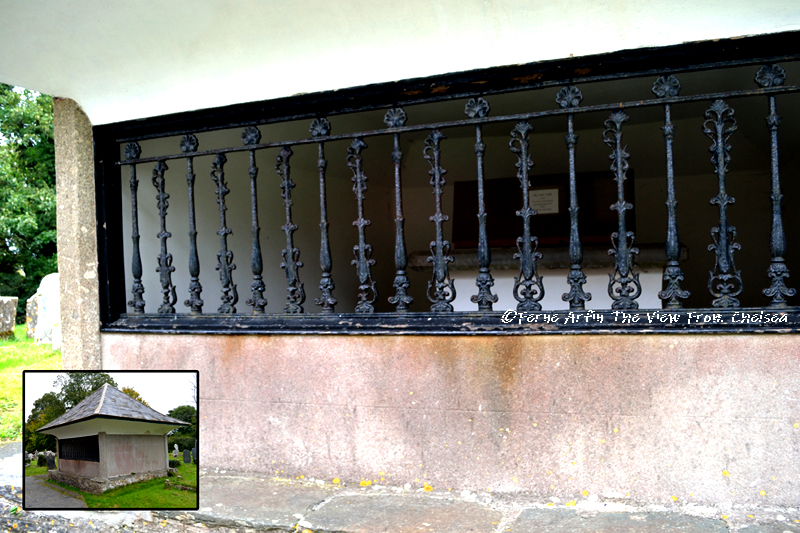 Spooky tomb, an evil squire, the hound of the baskervilles, buckfastleigh