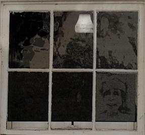 haunted window composit