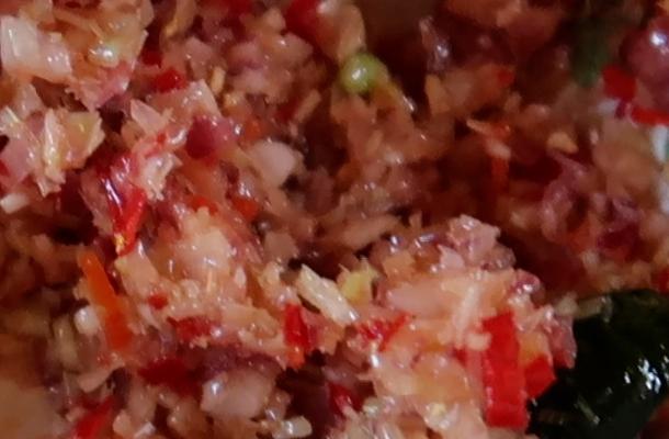 Balinese sambal, Silver nomad, sauces