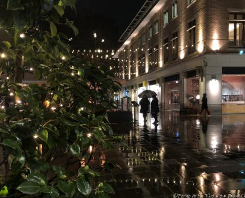 Chelsea, London, England, UK, Christmas, Duke of York's Square