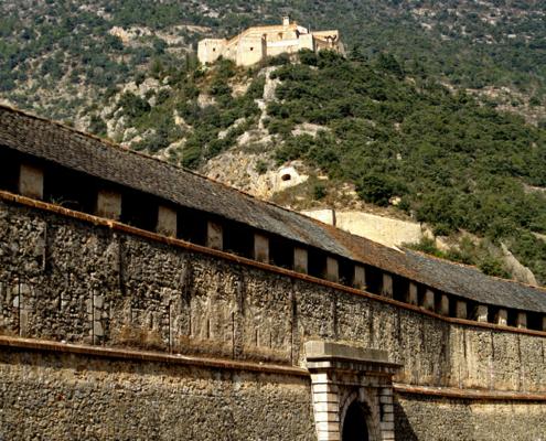 Fort Liberia, Villefranche de Conflent, Pyrenees, France, Catalonia, Vauban, Louis XIV